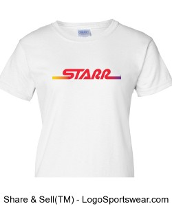 Logo Fitted Tee - White Design Zoom